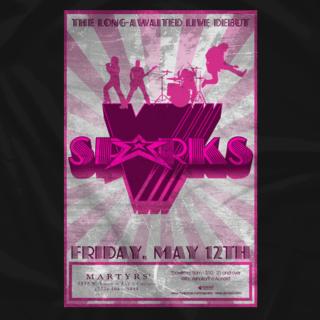 V Sparks - Martyrs Poster
