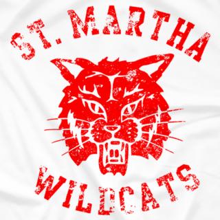 St. Martha Wildcat (Distressed)