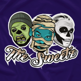 halloween logo purple