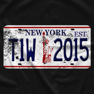 Tier 1 Wrestling NYC License BLK T-shirt