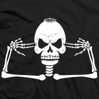 Tommaso Ciampa Skull with Guns T-shirt