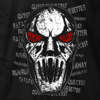 Psycho Killer Lyrics T-shirt