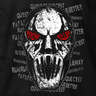 Psycho Killer Lyrics T-shirt