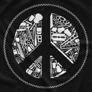 Top Rope Tuesday Peace T-shirt