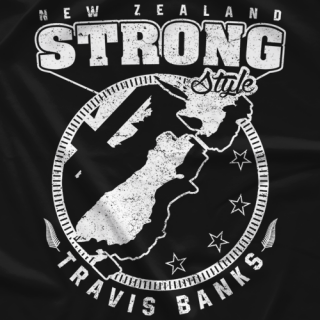 New Zealand Strong Style BW T-shirt