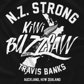 NZ Strong style - KIWI BUZZSAW