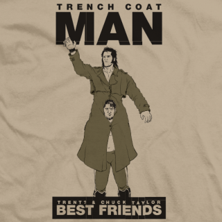 Trench Coat Man T-shirt
