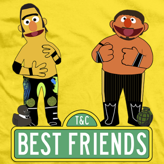 Best Friends Bert and Ernie T-shirt