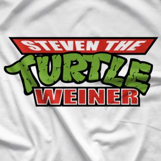 Steven The Turtle Weiner T-shirt