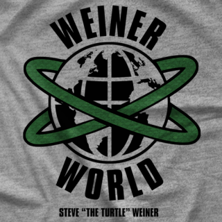Steven The Turtle Weiner Weiner World T-shirt