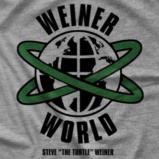 Steven The Turtle Weiner Weiner World T-shirt