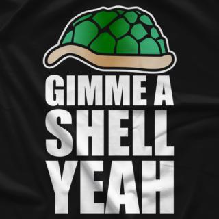 Steven The Turtle Weiner Shell Yeah T-shirt