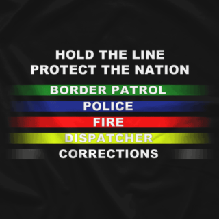 Hold the Line First Responder Shirt