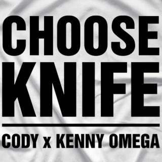 Kenny Omega Choose Knife T-shirt