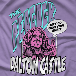 Dalton Castle Action Peacock T-shirt
