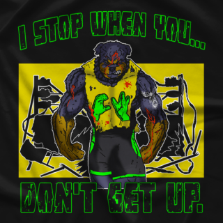 CW Anderson Don't Stop T-shirt