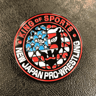 NJPW Collectors Pin: Lion Mark USA