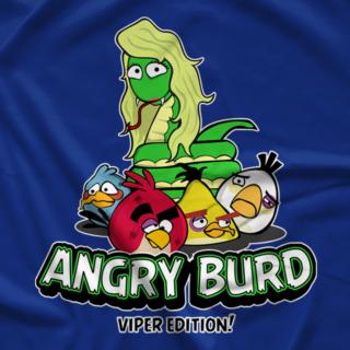 Viper Angry Burd Blue T-shirt