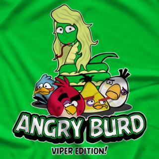 Viper Angry Burd Green T-shirt