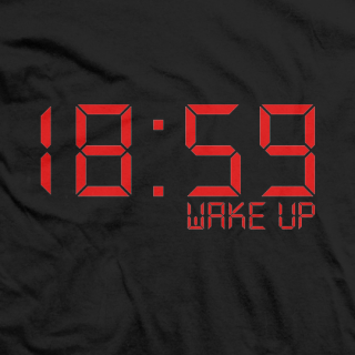 Cliff Compton 18:59 Wake Up T-shirt