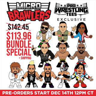 Micro Brawler Wave 2 Bundle - 11 Brand New Figures