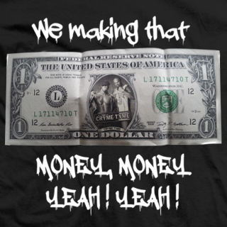 Crime Time Money Money T-shirt