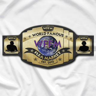 World Famous Flea Market Championship Belt