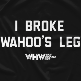 I Broke Wahoo's Leg