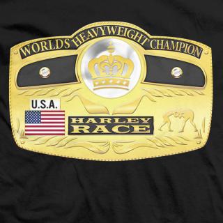 Harley Race Worlds Heavyweight Champion T-shirt