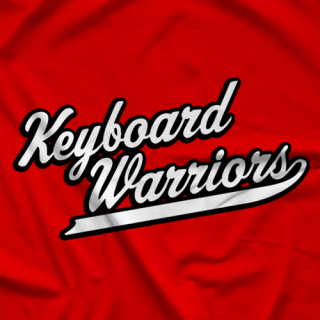 Wrestlezone Keyboard Warriors T-shirt