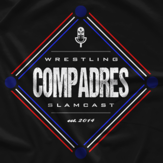 Wrestling Compadres New Era Logo T-shirt