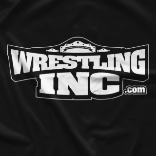 Wrestling Inc. WINC Black T-shirt