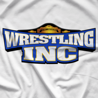 Wrestling Inc. WINC White T-shirt