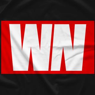 Wrestling Nerd WN Logo T-shirt