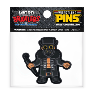 Marty Scurll Masked - Micro Brawler Wrestling Pin