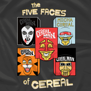 The Faces of Cerealman