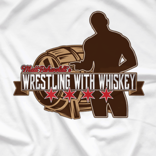 Wrestling With Whiskey Logo Tee