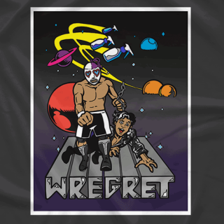 Wrestling With Wregret D*ck Kick City T-shirt