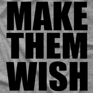 Zahra Make Them Wish T-shirt