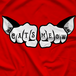 Zahra Cats Meow Tattoo T-shirt