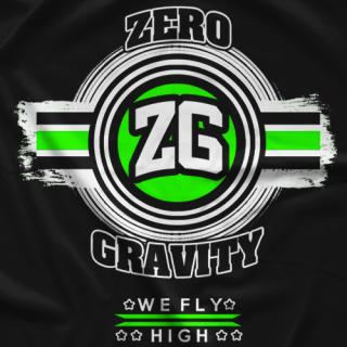Zero Gravity ZG16 Black T-shirt