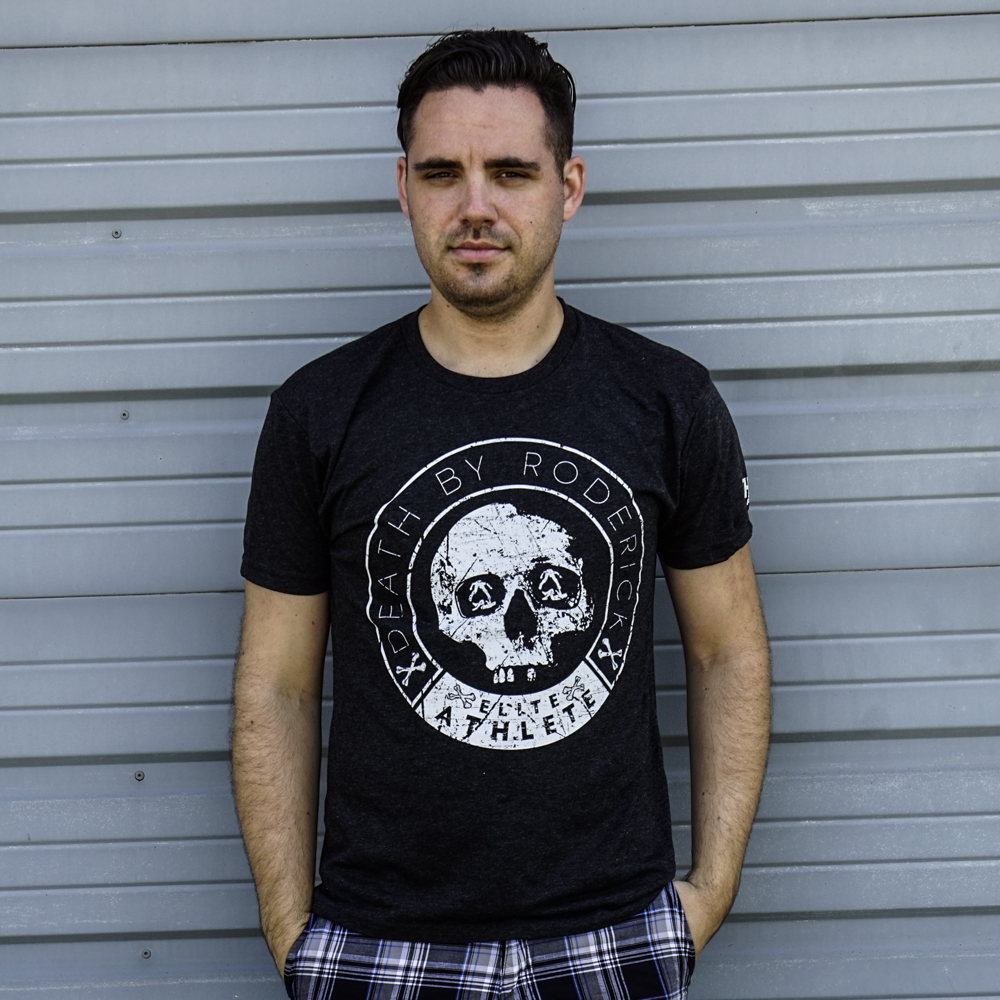 Roderick Strong Death by Roderick T-shirt