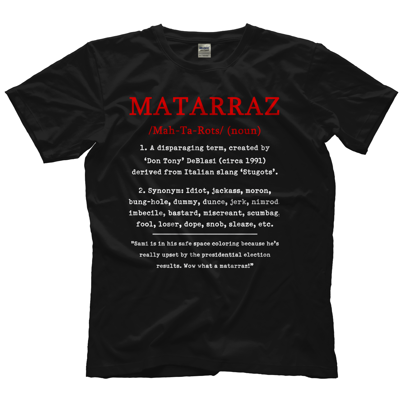 Don Tony And Kevin Castle Matarraz 2 T-shirt