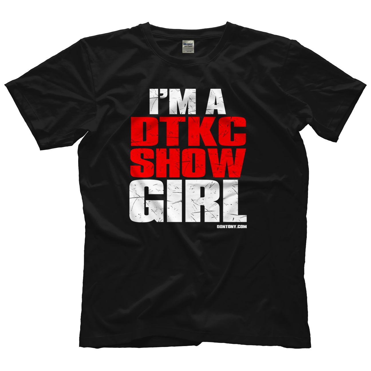DTKC Girl RD White T-shirt