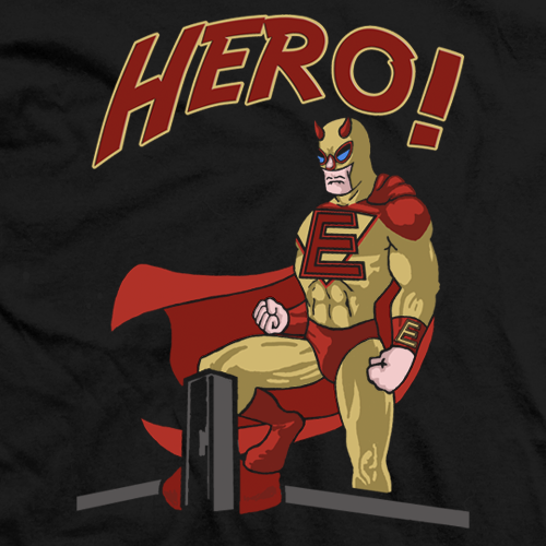 Eric Young Hero T-shirt