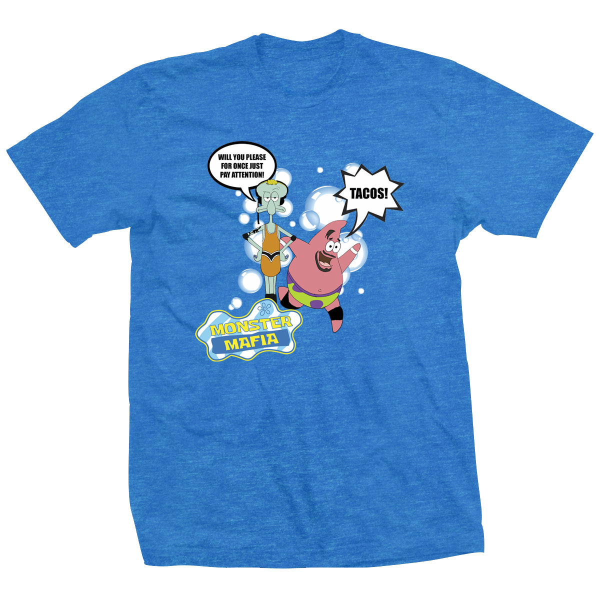 Ethan Page Under Sea Mafia T-shirt