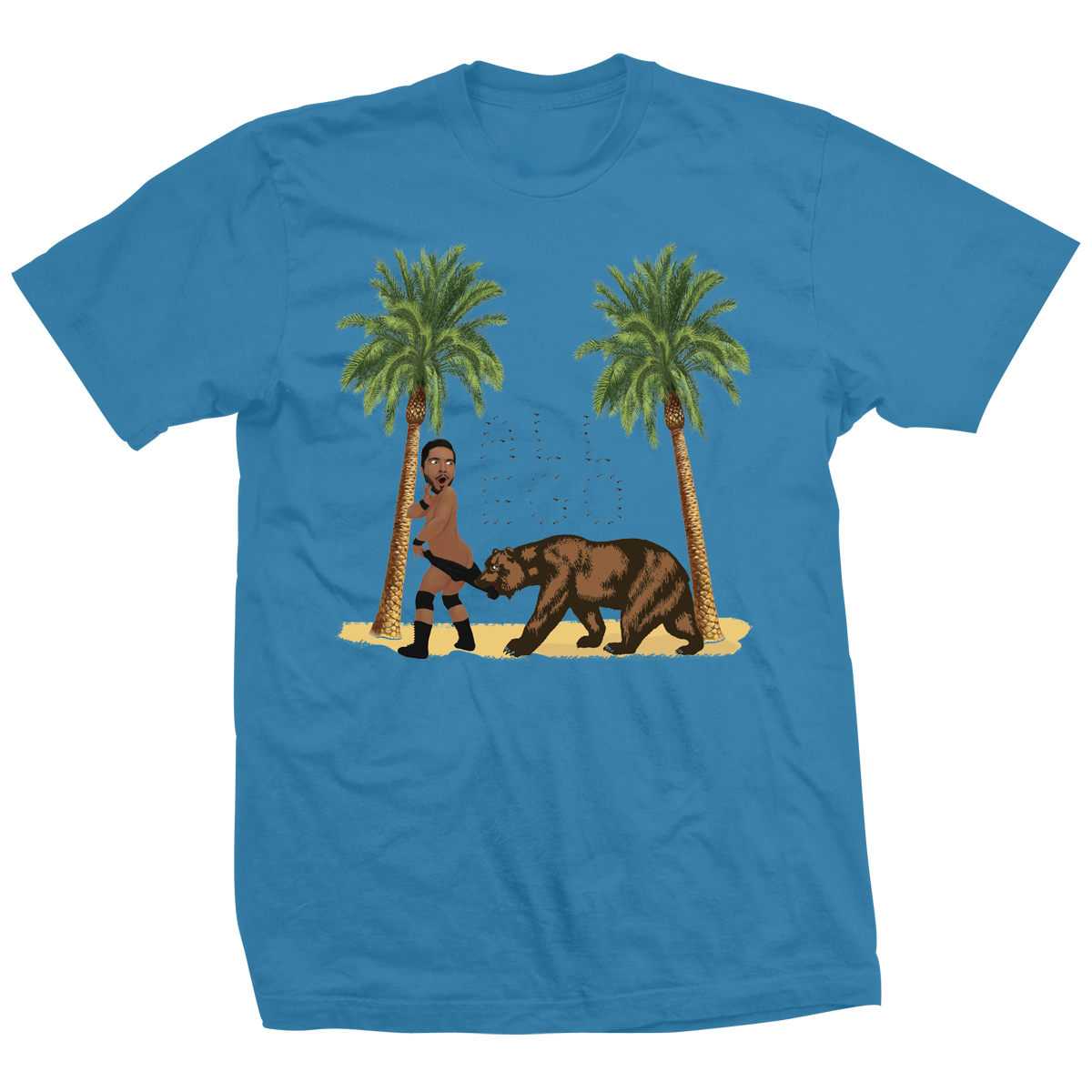 Ethan Page Coppertone Reseda Bear T-shirt