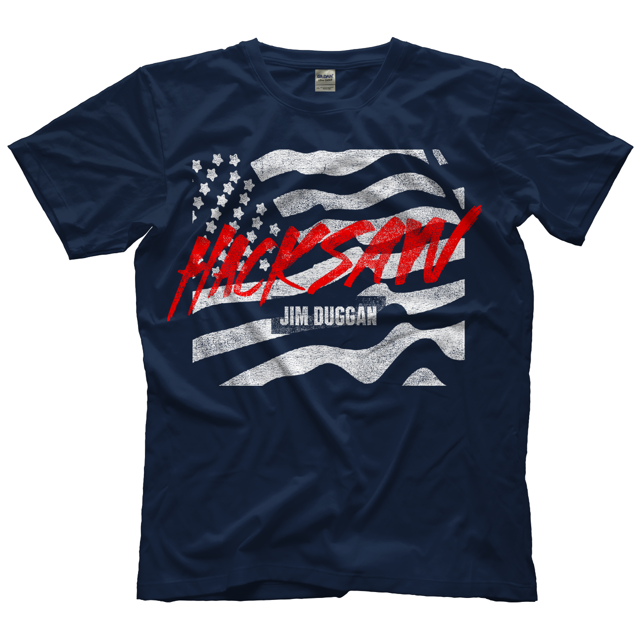 Jim Duggan Hacksaw Flag T-shirt