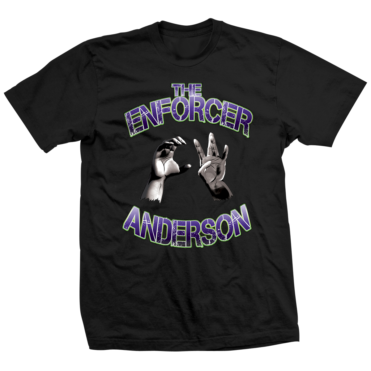 CW Anderson Hands Black T-shirt