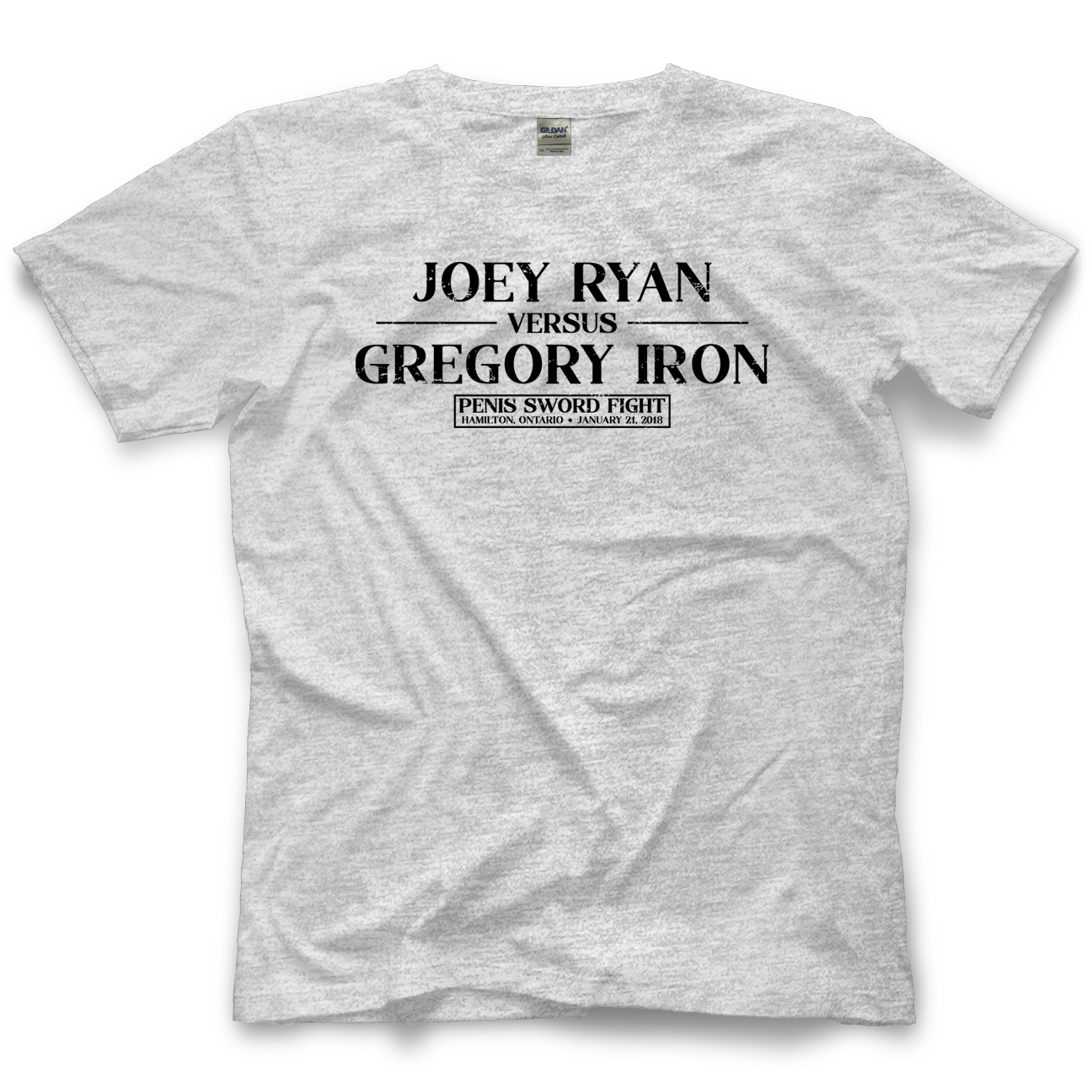 Joey Ryan vs. Gregory Iron